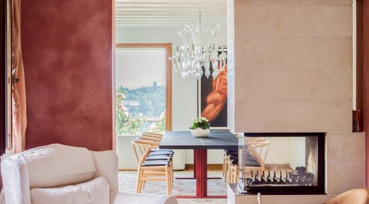 progetto arredo design villa