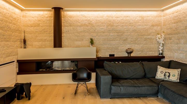 arredo design per soggiorno